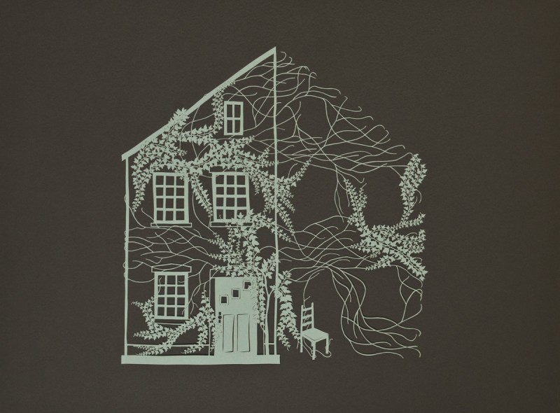 With Time, Cut Paper by Gail Cunningham