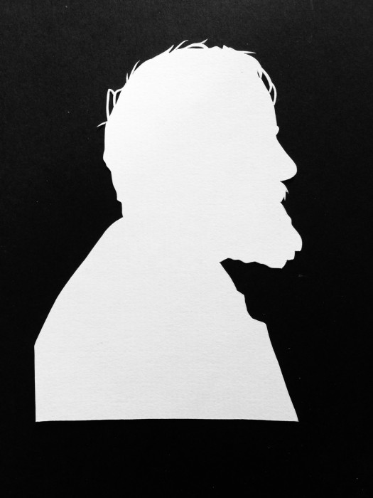 Cut Paper Silhouette - Billy